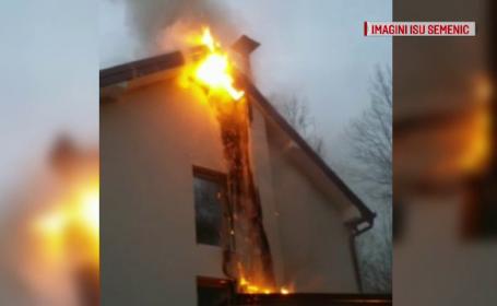 incendiu Oravița