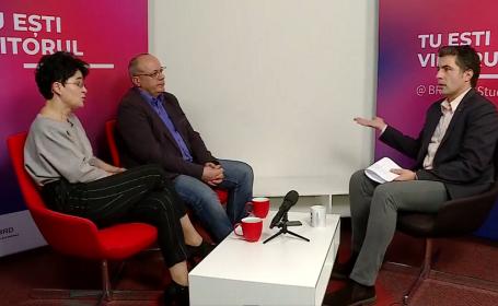 Cristian Leonte şi BRD, interviu LIVE pe Ştirile ProTV cu creatorii de mâine