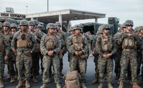 Militari americani la granita cu Mexicul