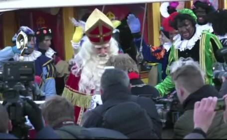 Ciocniri în Olanda, din cauza unei tradiţii de Moş Nicolae