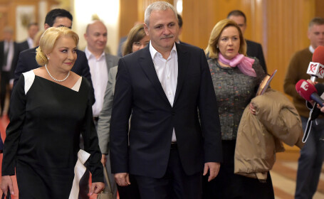 Răcire între Dragnea şi Dăncilă, chiar înainte de alegeri. Personajul care i-ar dezbina