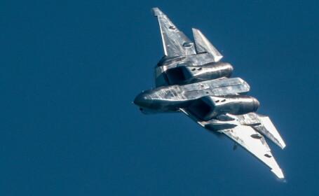 Cum arată cel mai modern avion de luptă al Rusiei. VIDEO