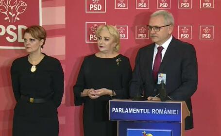 PSD o propune pe Olguța Vasilescu la Ministerul Dezvoltării și pe Mircea Drăghici la Transporturi. Mesajul lui Dragnea