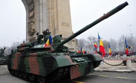 Un militar a murit în timpul pregătirilor pentru parada de 1 Decembrie
