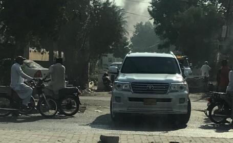 Atac armat asupra consulatului Chinei din Karachi. Sunt cel puţin 2 morţi