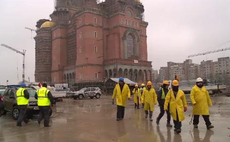 ISU nu a dat aviz pentru evenimentul de sfinţire a Catedralei Neamului: Se face pe răspunderea proprietarului