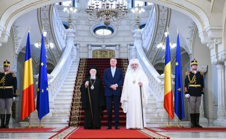 Klaus Ioohannis, Patriarhul Daniel, Patriarhul Bartolomeu
