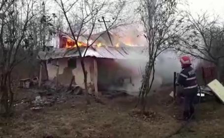 O bătrână nevăzătoare, la un pas să moară în propria casă. A fost salvată în ultimul moment