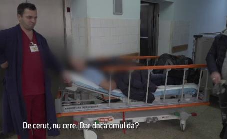 CAMERA ASCUNSĂ. De ce mai dau românii șpagă în spitale, deși medicii au salarii de zeci de mii de lei