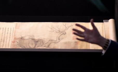 Pictura Lemn si Piatra - Su Shi