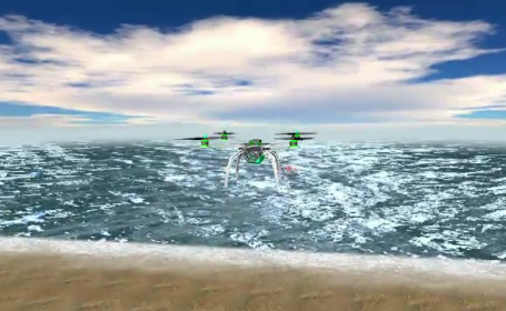 sistem, supraveghere aeriana, drone,