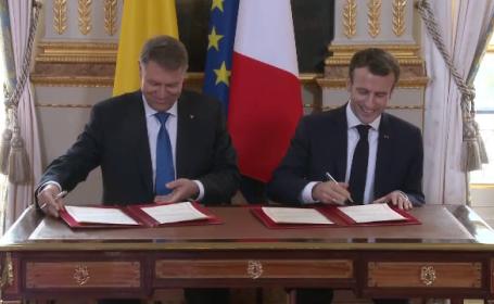 Emanuel Macron, Klaus Iohannis, franta, Schengen