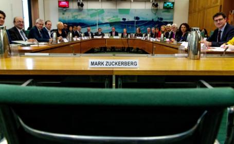facebook, parlamentul britanic,