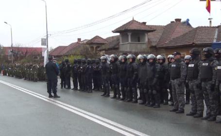 Pregătiri intense în Târgu Jiu pentru prima paradă militară organizată de 1 Decembrie