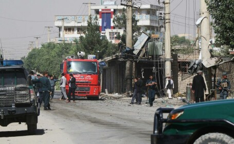 Companie de securitate britanică, atacată la Kabul. Sunt 10 morți