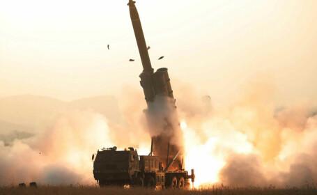 """Coreea de Nord confirmă noul test balistic. Kim Jong Un """"şi-a exprimat satisfacţia"""""""
