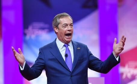 Nigel Farage: Marea Britanie nu va ieși din UE fără Partidul Brexit