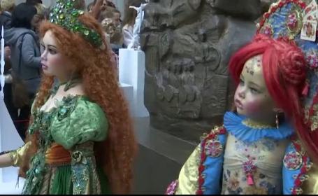 Expoziție de păpuși de colecție în Georgia. Cât costă o astfel de păpușă