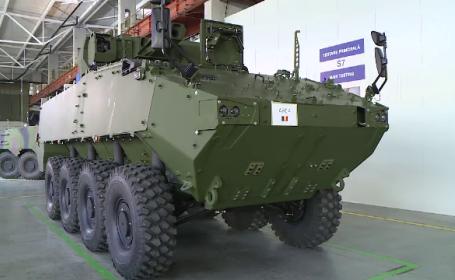 România va fabrica blindate Piranha V. Ar putea fi cumpărate de armate din toată lumea