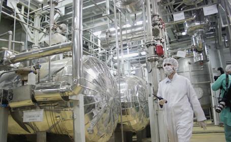 Iranul a retras acreditarea unei inspectoare a AIEA