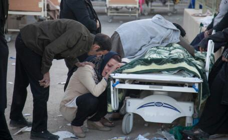 Cutremur în Iran: Cel puţin cinci morţi şi 120 de răniţi