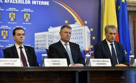 Iohannis se va întâlni joi cu miniştrii Educaţiei, Sănătăţii, Dezvoltării şi Internelor
