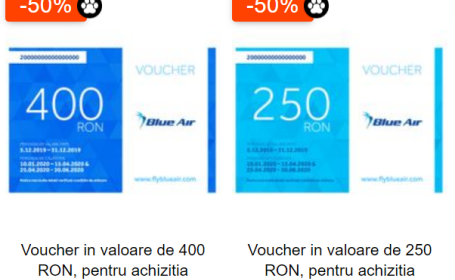 vouchere avion emag