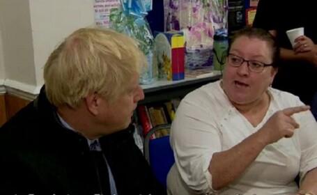 Moment jenant pentru Boris Johnson