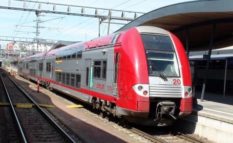 Accident grav în județul Galați. O tânără a sărit dintr-un tren în mișcare