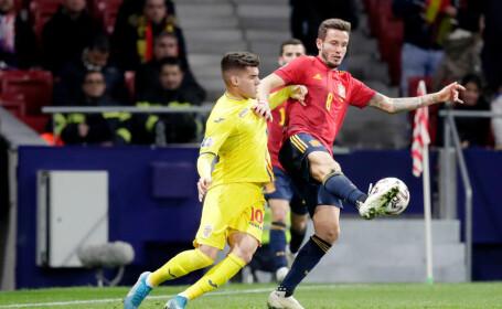 SPANIA - ROMÂNIA, 5-0, în preliminariile Euro 2020. Naționala lui Contra, îngenunchiată în Spania