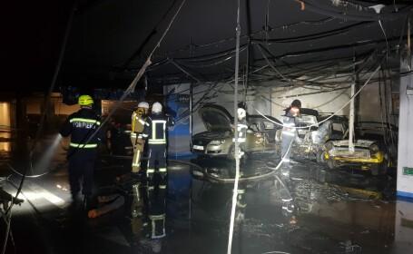 Mall din București, evacuat de urgență din cauza unui incendiu
