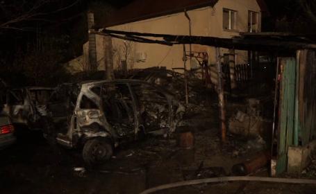 Atelier auto făcut scrum în Buzău. Ce au descoperit salvatorii