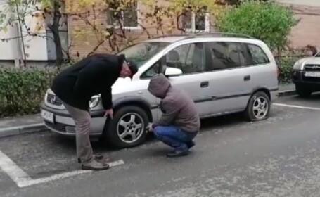 Zeci de mașini vandalizate într-o singură noapte la Craiova. Cum au fost găsite de proprietari