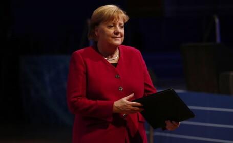 Cancelarul german Angela Merkel