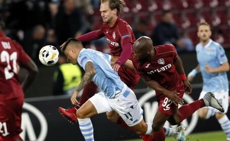 LAZIO - CFR. CFR Cluj a fost învinsă de Lazio cu 1-0, în Europa League
