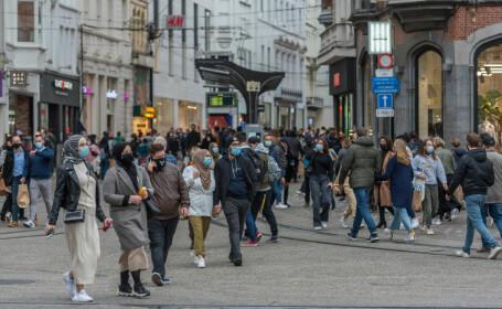 Belgia, a doua țară europeană care a intrat din nou în carantină națională din cauza Covid-19