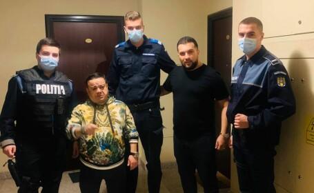 Surse: Adi Minune și Tzanca Uraganul, amendați de polițiști la o petrecere din București