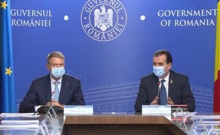 Președintele Klaus Iohannis, la ședința de Guvern: Circulația pe timpul nopții trebuie restricționată la nivel național