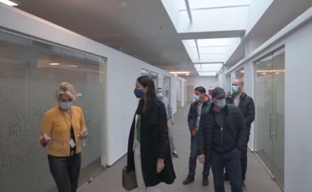 Clotilde Armand dezvăluie cum arată sediul Companiei de Investiții în sănătate, pentru care se plătește chirie 20.000 € lunar