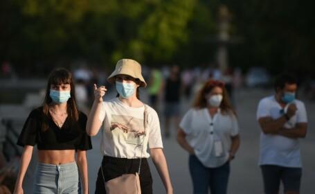 Curtea de Apel București a decis că masca nu e obligatorie în spații deschise. Sentința nu este definitivă
