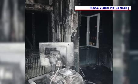 Incendiul de la SJU Piatra Neamţ: Procurorii au stabilit locul de unde a izbucnit focul