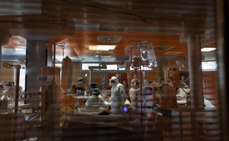 Cei şase pacienţi transferaţi de la Neamţ la Iași, în stare generală gravă