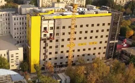 Cum arată primul spital pentru copii cu probleme oncologice din România, construit de Asociația