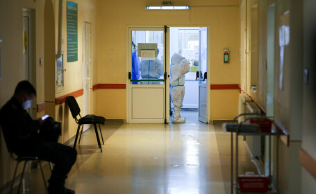 Un pacient cu Covid-19 din Alba a fugit de trei ori din spital, în aceeași zi