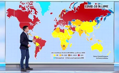Pandemia continuă să facă ravagii la nivel mondial. Tot mai multe țări intră în carantină generală