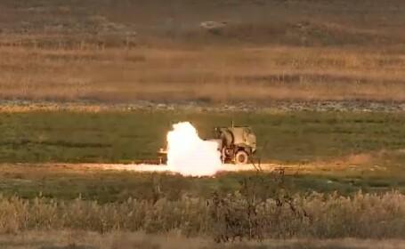 Exercițiu româno-american pe litoral, cu noile rachete HIMARS. Armata română le va folosi din 2021