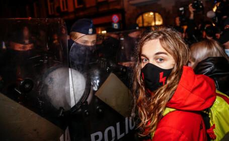 Protest în Polonia