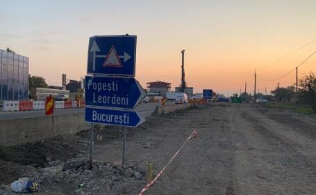 FOTO VIDEO Când vor fi gata cele cinci pasaje aflate în construcție pe centura Bucureștiului