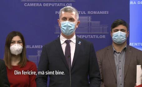 Liderul USR, Dan Barna, s-a infectat cu Covid-19. Care este starea lui de sănătate