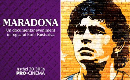 Marodona, documentar eveniment în regia lui Emir Kusturica, vineri seară, la Pro Cinema